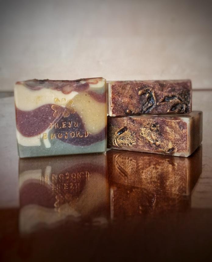 Vanilka a čokoláda mýdlo